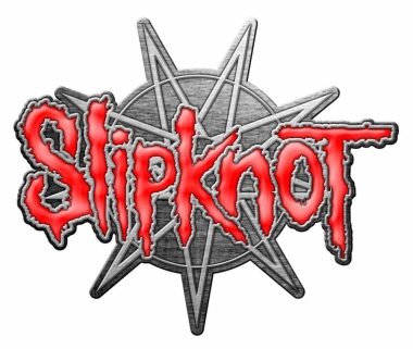 Slipknot 9 Pointed Star Anstecker