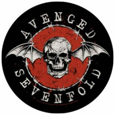 Avenged Sevenfold Rückenaufnäher Distressed Skull