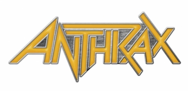 Anthrax (Logo) - Metall Pin mit Schmetterlingsverschluss
