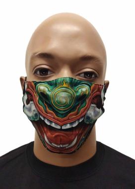 Gesichtsmaske Zähne
