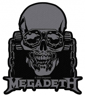 Megadeth Patch Vic Rattlehead