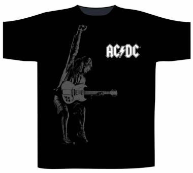 AC/DC T Shirt Angus Watermark