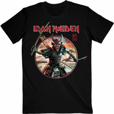 Iron Maiden Senjutsu Eddie Warrior Circle