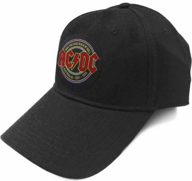 Baseball Cap AC/DC Logo EST. 1973