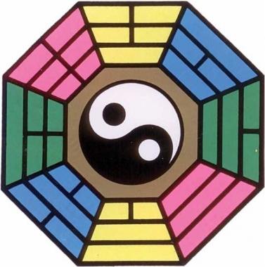 Aufkleber Yin Yang