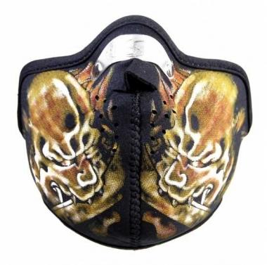 Biker Maske Devil's Warrior