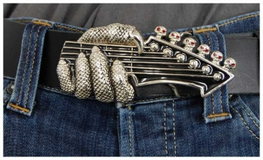 Gürtelschnalle Guitar