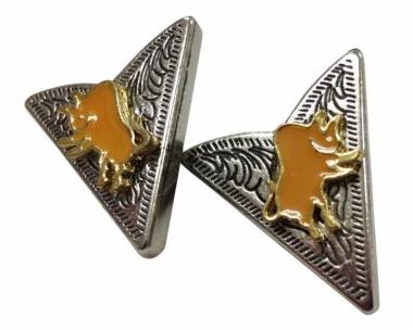 Cowboy Kragenclips - Bulle