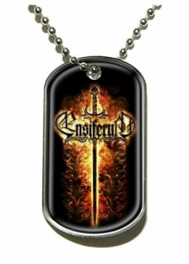 Ensiferum Sword Merchandise Dog Tag