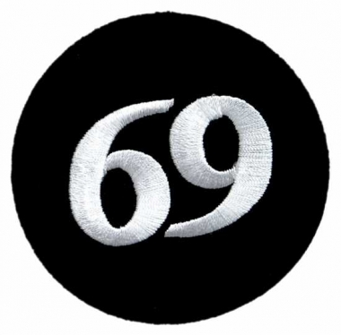 Aufnäher - 69