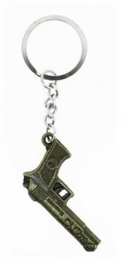 KEX 123 - Schlüsselanhänger - Goldene Pistole