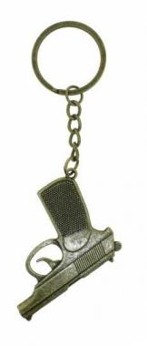 KEX 136 - Schlüsselanhänger - Goldene Pistole