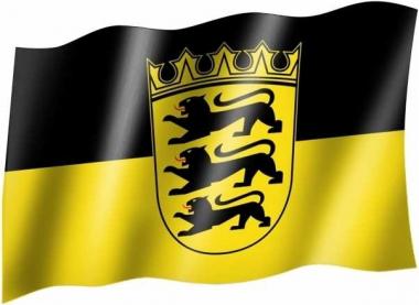 Baden Württemberg - Fahne