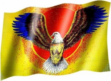 Adler - Fahne