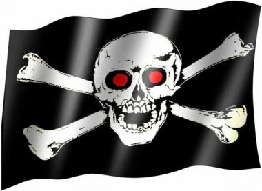 Totenkopf - Fahne