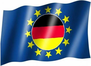 BRD & Europa - Fahne