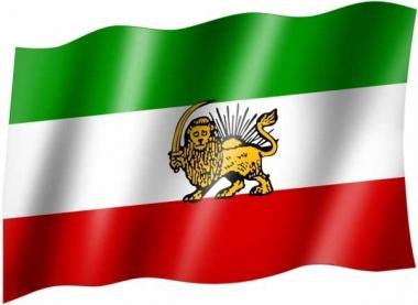 Alt Iran - Fahne