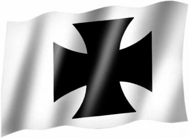 Eisernes Kreuz - Fahne