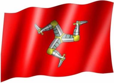 Isle of man - Fahne