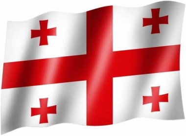 Georgien - Fahne
