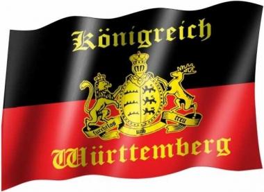 Königreich Wuerttemberg - Fahne