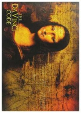 Postkartenset The Da Vinci Code