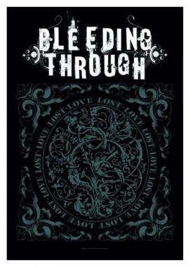 Posterfahne Bleeding Through Lost