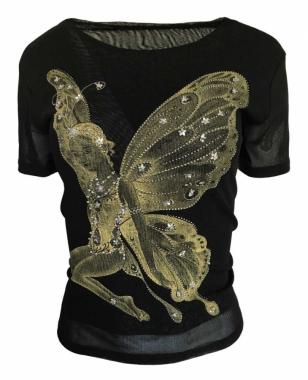 Wunderschönes Elfenmotiv Damen T-Shirt