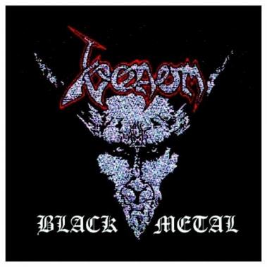 Aufnäher Venom Black Metal