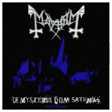 Aufnäher Mayhem De Mysteriis Dom Sathana