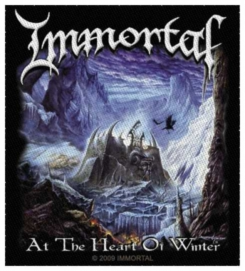 Aufnäher Immortal At The Heart Of Winter