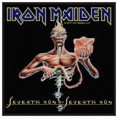 Aufnäher Iron Maiden Seventh Son