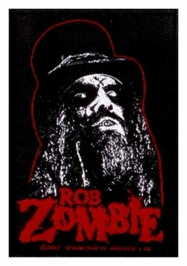 Aufnäher Rob Zombie Portrait