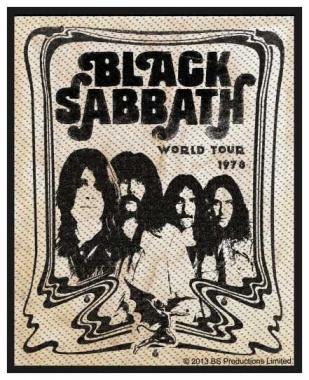 Aufnäher Black Sabbath Band