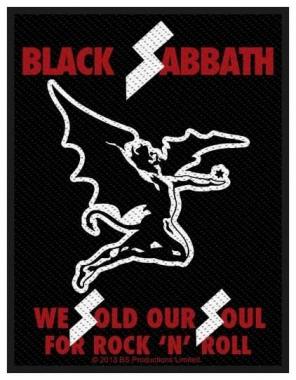 Aufnäher Black Sabbath Sold Our Souls