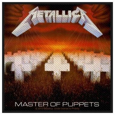 Aufnäher Metallica Master of Puppets