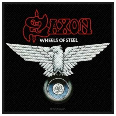 Aufnäher Saxon Wheels of Steel