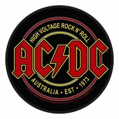 Aufnäher ACDC High Voltage Rock n Roll