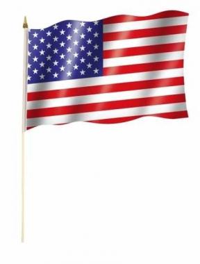 USA Stockfahnen