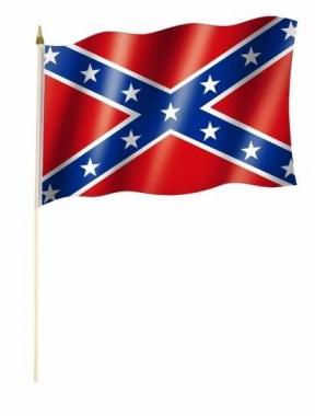 Südstaaten Stockfahnen