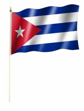 Kuba Stockfahnen