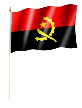 Angola Stockfahnen