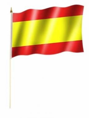 Spanien Stockfahnen