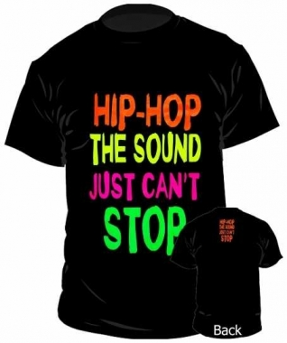 T-Shirt Hip Hop The Sound Just Can't Stop