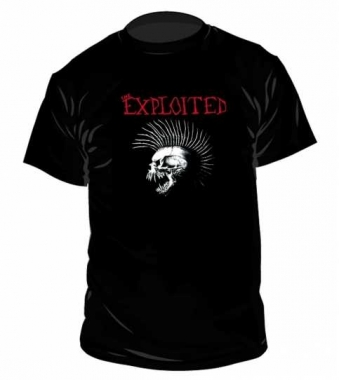 The Exploited Beat The Bastards T Shirt