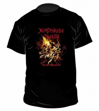 Blasphemic Cruelty Devil's Mayhem T Shirt