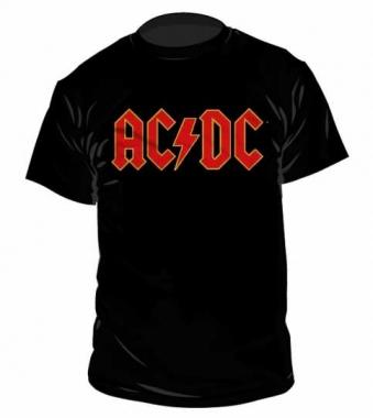 AC/DC Logo T Shirt