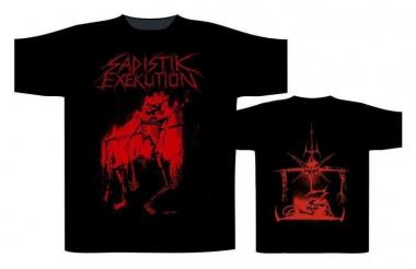 Sadistik Execution Skull T Shirt