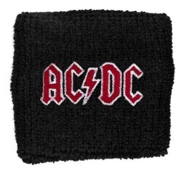 AC/DC Red Logo Merchandise Schweißband