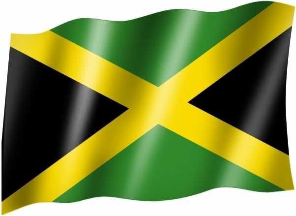 Flagge Jamaika Farben